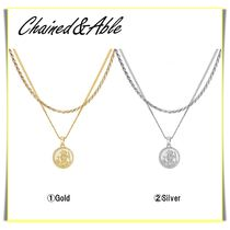 【Chained&Able】ST CHRISTOPHER MEDALLION ROPE LAYER ☆ (2色)