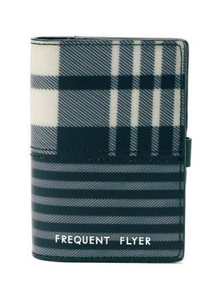 【FREQUENT FLYER】(U)Wallet タータングレー
