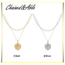 【Chained&Able】ST CHRISTOPHER MINI MEDALLION FIGARO LAYER☆