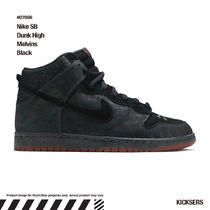 入手困難レアダンク!Nike SB Dunk High Melvins Black