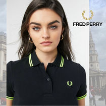 FRED PERRY(フレッドペリー) ポロシャツ 【レディース注目】FRED PERRY Women Twin Polo Shirt
