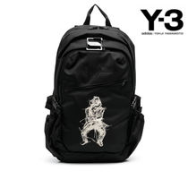 Y-3(ワイスリー) Graphic-print backpack