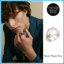 【VINTAGE HOLLYWOOD】Square Shape Ring〜リング★2021春コレ