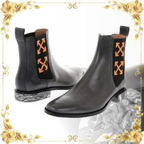 ☆SALE☆Leather ARROW CROSS Chelsea Boots
