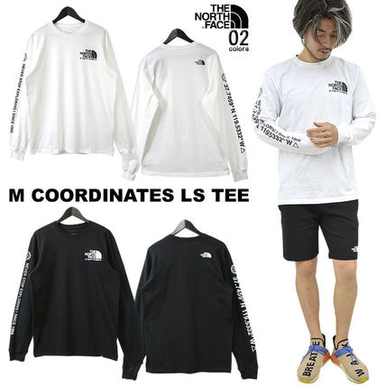 THE NORTH FACE Tシャツ・カットソー 海外限定 THE NORTH FACE ノースフェイスCOORDINATES LS TEE即納