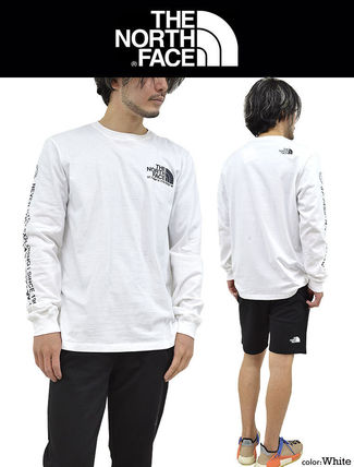 THE NORTH FACE Tシャツ・カットソー 海外限定 THE NORTH FACE ノースフェイスCOORDINATES LS TEE即納(4)