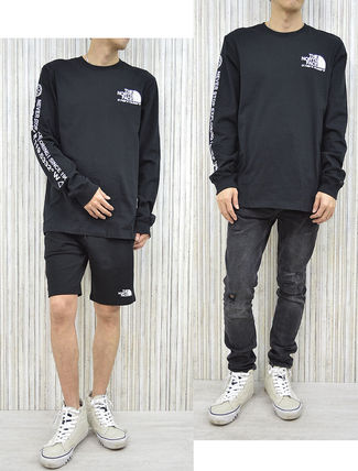 THE NORTH FACE Tシャツ・カットソー 海外限定 THE NORTH FACE ノースフェイスCOORDINATES LS TEE即納(7)