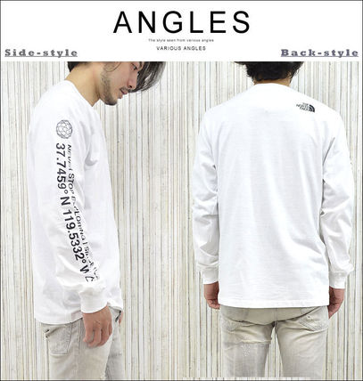 THE NORTH FACE Tシャツ・カットソー 海外限定 THE NORTH FACE ノースフェイスCOORDINATES LS TEE即納(8)