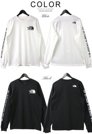 THE NORTH FACE Tシャツ・カットソー 海外限定 THE NORTH FACE ノースフェイスCOORDINATES LS TEE即納(9)