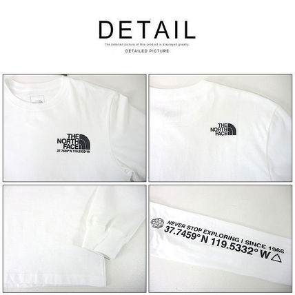 THE NORTH FACE Tシャツ・カットソー 海外限定 THE NORTH FACE ノースフェイスCOORDINATES LS TEE即納(12)