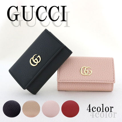 GUCCI グッチ 6連キーケース PETITE MARMONT 456118CAO0G GGロゴ
