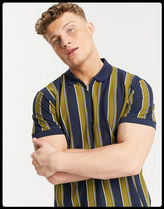 SELECTED(セレクトテッド) Tシャツ・カットソー 【関税/送料込】SELECTED HOMME 胸ジップポロシャツ/NAVY