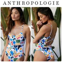 Anthropologie Beach Riot Jamie Abstract ワンピース
