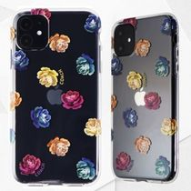 【Coach】DreamyPeony HybridCase iPhone11 ClearRainbowGlitter