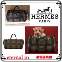 21SS 希少直営店★HERMES★エルメス犬用バッグ Carrying Dog Bag