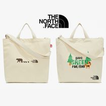 ★THE NORTH FACE_KIDS COTTON CROSS BAG★