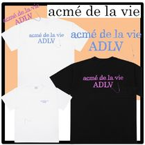 ☆acme'de la vie☆SEWING BASIC LOGO SHORT SLEEVE T-SHIR.T★