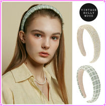 【VINTAGE HOLLYWOOD】Lily Wide Hairband~カチューシャ★2021SS