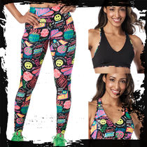 ◆SET UP①◆ Zumba Fresh Vibes Reversible Bra+Ankle Leggings