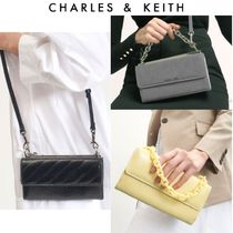 【Charles&Keith】チェーン付き ロングウォレット 送料込