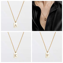 Massimo Dutti【NEW】GOLD-PLATED LETTER NECKLACE
