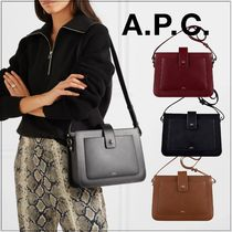 A.P.C.(アーペーセー) ショルダーバッグ・ポシェット 即発★21SS A.P.C. Albane Smooth Shoulder Bag PXAWV-F61172