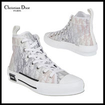『DIOR』21SS新作★WHITE AND GREY CANVAS SNEAKERS