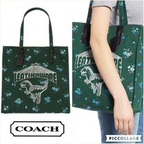 【Coach】TOTE BAG WITH REXY