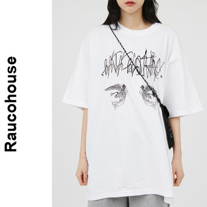 Raucohouse(ラウコハウス)★ Twin Angel Printing T