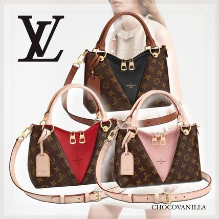 【LOUIS VUITTON】Vトート BB