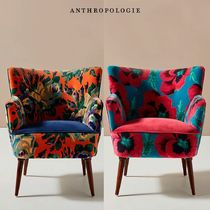 【アンソロポロジー】 Velvet Tanya Petite Accent Chair