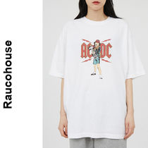 Raucohouse(ラウコハウス)★ AC/DC Angus Young Printing T
