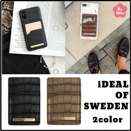 【iDEAL OF SWEDEN/送料無料】スマホ Magnetic Card Holder