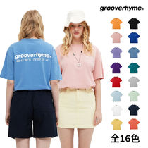 GROOVE RHYME(グルーヴライム) Tシャツ・カットソー [grooverhyme] NYC LOCATION T-SHIRT