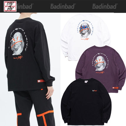 ★2021SS新作★BAD IN BAD★FRANKLIN PORTRAIT LONG SLEEVE_3色
