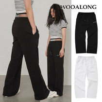 [WOOALONG] Stretch over-fit training pants