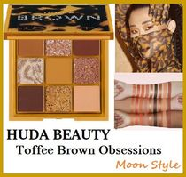 HUDA BEAUTY☆Toffee Brown Obsessions アイシャドウパレット