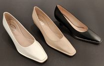 VIPセール40%オフ【TODS LEATHER lOW HEEL SIMPLE PUMPS】