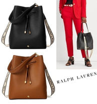 Ralph Lauren★Large Logo Debby Drawstring 2way Bag(追跡付き)