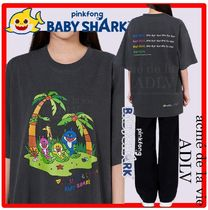 【PINKFONG BABY SHARK X ADLV】☆JUNGLE FAMILY Short Sleev.e