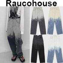 ★人氣★Raucohouse★UNIQUE COLOR DYEING DENIM PANTS_4色
