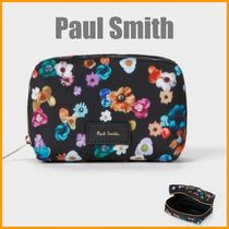 """Paul Smith(ポールスミス) メイクポーチ Paul Smith◆""""Floral River"""" プリントポーチ S◆国内即発送"""