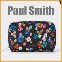 """Paul Smith(ポールスミス) メイクポーチ Paul Smith◆""""Floral River"""" プリントポーチ M◆国内即発送"""