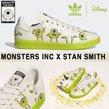 "★adidas x MONSTERS INC.★海外先行発売★Stan Smith ""マイク"""