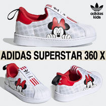 ★adidas KIDS x Disney★Superstar 360 X 12-16cm★追跡付