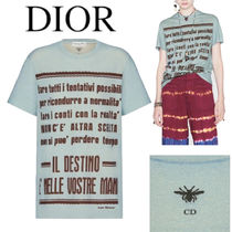 DIOR 'THE DESTINY IS IN YOUR HANDS' T-SHIRT