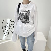 uni's room■3color ロングスリーブプリントTシャツ TP-SS21-37