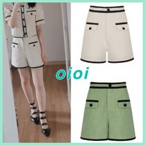 人気ブランド★OiOiCOLLECTION★TWEED SHORT PANTS / 全2色