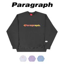 【PARAGRAPH】21ss★ FLAME HIGE FREQUENCY SWEATSHIRT