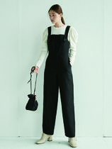 AND YOU(アンドユー) オールインワン・サロペット AND YOU JAMSIL Overall (Black)